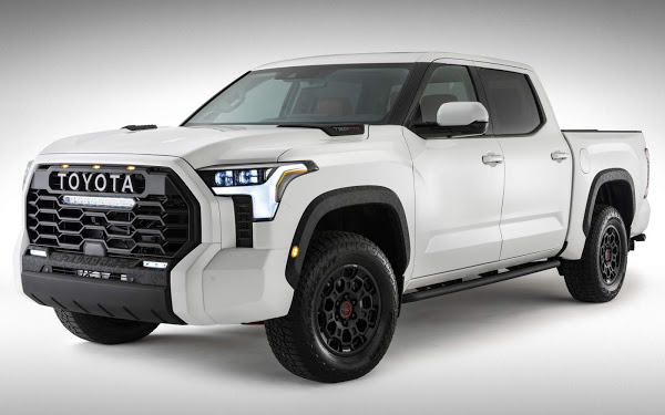 Nova Toyota Tundra 2022 tem primeira imagem revelada oficialmente